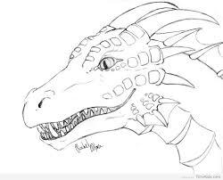 Free Dragon Coloring Pages Ayushseminarmahainfo