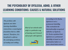 the psychology of dyslexia adhd other learning conditions  the psychology of dyslexia adhd other learning conditions causes natural solutions video