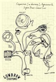 simple motorcycle wiring diagram for choppers and cafe racers 6v Coil Motorcycle Wiring Diagram lowbrow customs motorcycle wiring diagram capacitor (no battery), regulator and single dual lead coil Ignition Coil Wiring Diagram