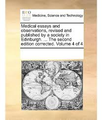 medical essays the catastrophic self inter disciplinary press how  medical essays and observations revised and published by a medical essays and observations revised and published