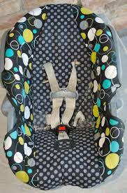 infant toddler car seat cover tutorial
