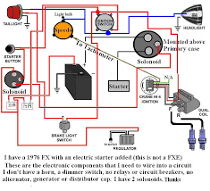 harley davidson voltage regulator wiring diagram i am trying to wire my 1976 harley fx an electric ignition ok i think this