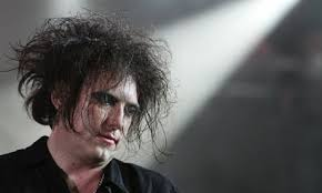 """Robert Smith of British band The Cure. Robert Smith, singer of British band The Cure Photograph: Thierry Roge/Reuters. """"Godlike Genius"""" is a slippery thing. - Robert-Smith-of-British-b-001"""