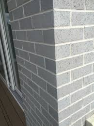 Light Grey Brick House Pin By Bcr On Exterior In 2020 House Exterior Color
