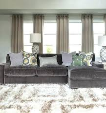 grey velvet sectional sofa interior gray couches living room be equipped with oversized couch royal blue