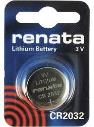 <b>Батарейка Renata CR2032</b> 3V <b>литиевая</b>, 1 шт. – купить, лучшая ...