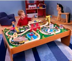 thomas train track table piece wooden train set small table toys kid railway track compatible t f thomas train track table train table wooden