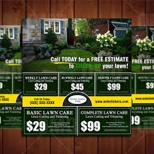lawn care flyer template lawn care business marketing tips try this attractive lawn care direct mailer eddm today landscaping business is becoming more