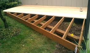 ground level deck how to build a ground level deck with deck blocks ground level deck