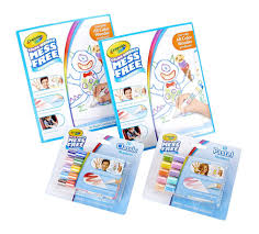 Crayola Color Wonder Markers And Paper Mess Free Coloring 60 Blank