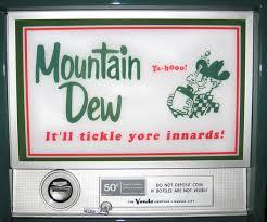 Vintage Mountain Dew Vending Machine Classy Mountain Dew Vendo 48 Antique Refinishing Services