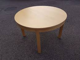 ikea round bjursta extending dining table free delivery 613