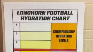 Nfl Coaches Play Chart Look Texas Urine Color Chart Decides If Youre A Champion