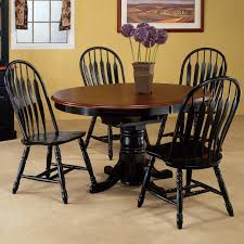40 inch round pedestal dining table:   inch round pedestal table is also a kind of dining room fancy brown varnished butterfly