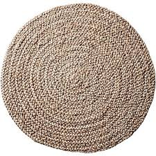 cliff braided jute round rug