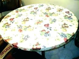 60 round vinyl tablecloth tablecloths flannel backed x 84 inch with elastic table covers elasticized cover