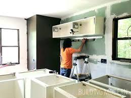 kitchen cabinet installation installing kitchen cabinets yourself hang cabinet installation full size ikea kitchen