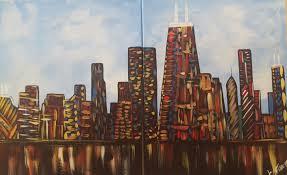 class chicago skyline