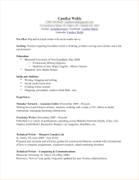 Examples Of Additional Information On Resume