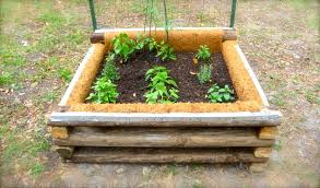 build a rolling raised garden bed