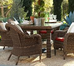 pottery barn outdoor wicker furniture designs intended for idea 16