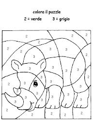 Puzzle Con Lettere Disegni Da Colorare Bambini Disegni