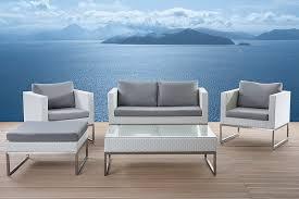 cheap modern outdoor furniture. Modern Outdoor Patio Conversation Set Crema By Velago Cheap Furniture