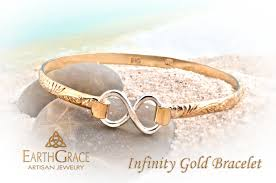 earth grace infinity bracelet