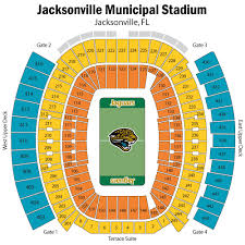 Tiaa Everbank Seating Chart Everbank Field History Photos More Of The Site Of Super