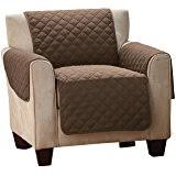 Cover furniture Armless Collections Etc Reversible Quilted Furniture Protector Cover Chocolatetan Chair Maromadesign Amazoncom Couch Coat Convenient Reversible Sofa Cover By
