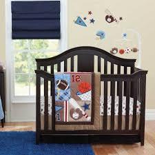 touchdown 7 piece baby crib bedding set