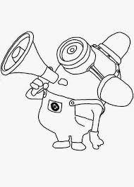 Small Picture despicable me minions with speakers coloring pages coloring