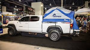 The Best Stuff We Found at the SEMA Show: Napier Truck Bed Tent