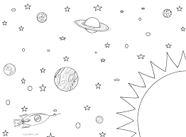 Coloring Pages Planets Of The 8 Solar System Free Colo Ilovezclub