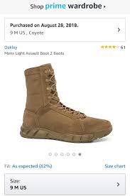 Oakley Boot Size Chart Oakley Footwear Size Chart Heritage Malta