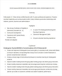 Substitute Teacher Resume Extraordinary 28 Substitute Teacher Resume Templates PDF DOC Free Premium