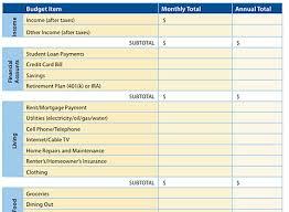 Budgeting Spreadsheet Free 7 Free Printable Budgeting Worksheets
