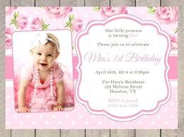 Girl Birthday Invitation Template 1st Birthday Invitation Template Salabs Pro