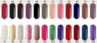 Cnd Shellac Nail Polish Colors Chart Papillon Day Spa