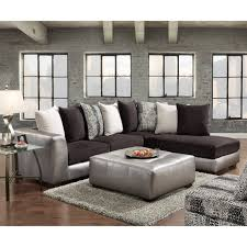 considering microfiber sectional sofa. Shimmer Pewter Microfiber Silver Grey Sectional Sofa And Ottoman - Free Shipping Today Overstock 21215418 Considering O