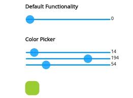 form slider simple jquery custom range slider plugin spunky slider free
