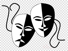 Theatre Mask Drama Transparent Png Image Clipart Free Download