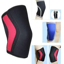 Rocktape Knee Sleeve Size Chart Men Women 7mm Neoprene Thick Compression Knee Brace Sleeve Support