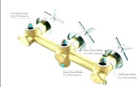 three handle shower valve how to replace a 3 handle shower faucet replace shower faucet shower