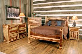 Pine Log Bedroom Furniture Log Bedroom Furniture Sizemore