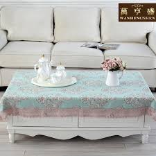 wan heng sheng past cloth side a few rectangular coffee table mat coffee table towel