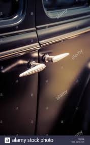 Close Up Of Vintage Car Door Handle Stock Photo Royalty Free Image