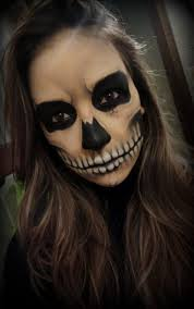 skull megan howell i just want to do something like this tomorrow with a black