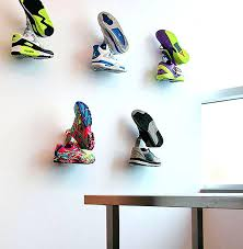 sneaker wall display if you want to showcase your favorite sneakers do it in style with