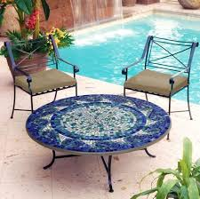 DIY Outdoor Table With Tile Top And Steel Base Home Design Garden